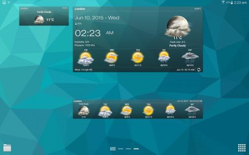 Weather & Clock Widget 5.9.3.4. Скриншот 10