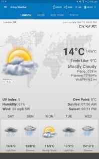 Weather & Clock Widget 5.9.3.4. Скриншот 11