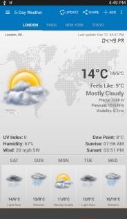 Weather & Clock Widget 5.9.3.4. Скриншот 14