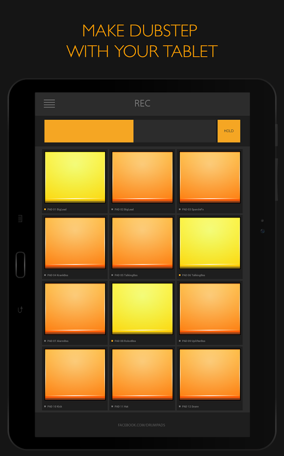 Скачать dubstep drum pads 24 бесплатно для android, версия 2. 3. 0.