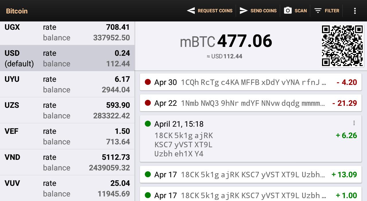 Bitcoin wallet скачать