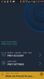 Prey Anti Theft 1.9.4. Скриншот 2