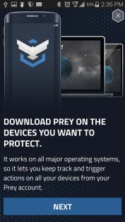 Prey Anti Theft 1.8.9. Скриншот 7