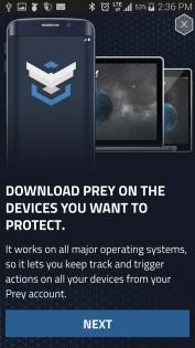 Prey Anti Theft 1.9.4. Скриншот 7