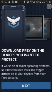 Prey Anti Theft 1.8.9. Скриншот 13