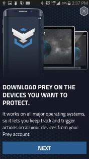 Prey Anti Theft 1.9.4. Скриншот 13