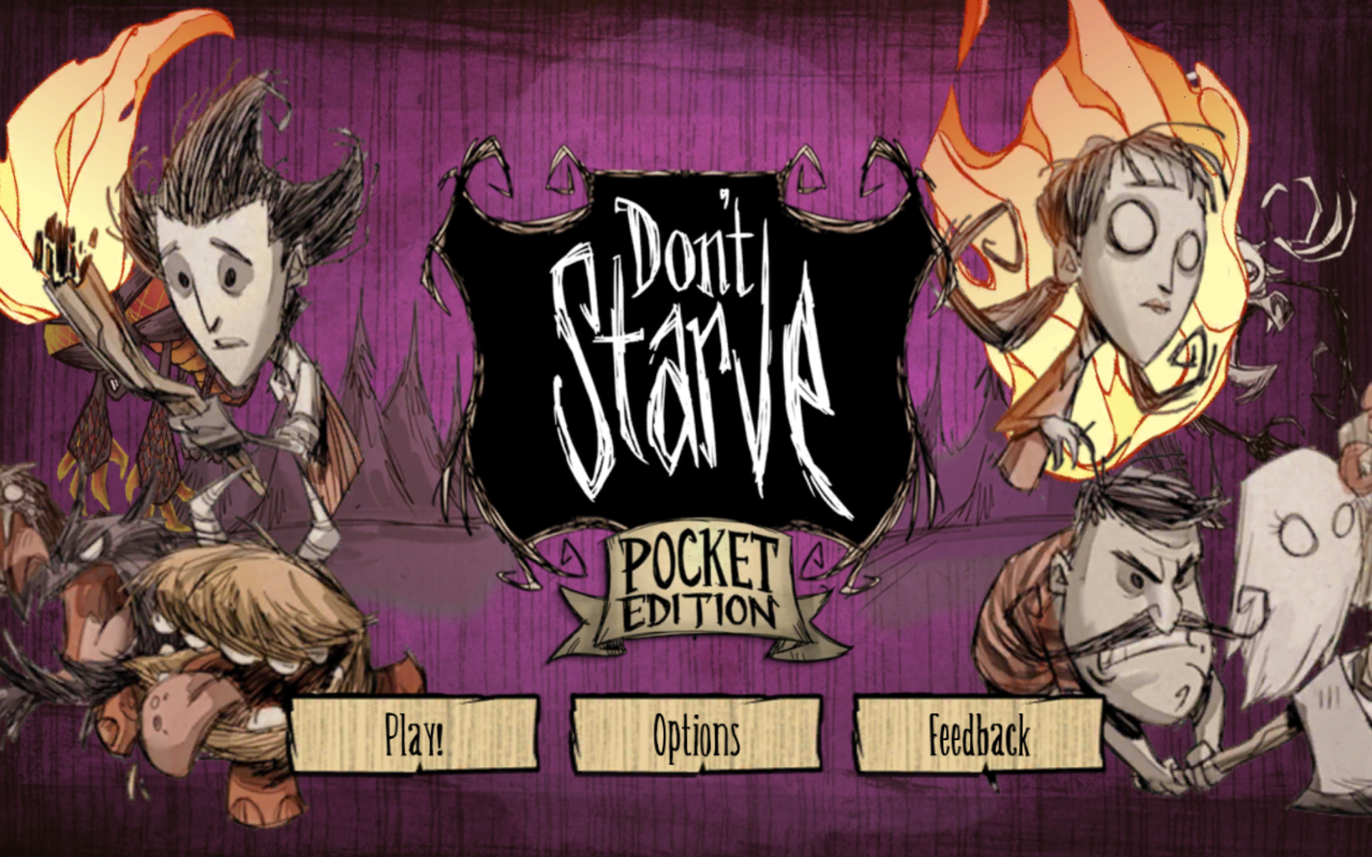 Скачать don't starve: pocket edition 1. 04 для android.