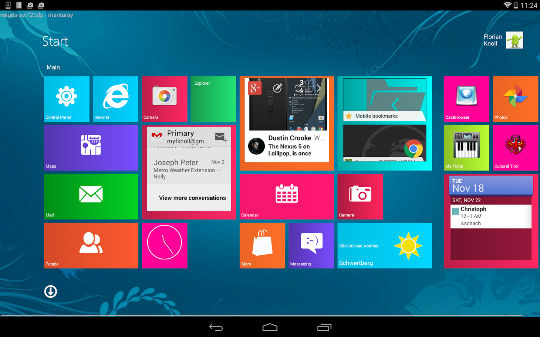 Метро приложения для windows 8 скачать