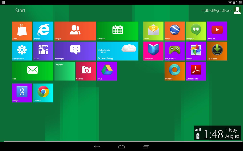 Скачать Windows 8 для планшета Андроид