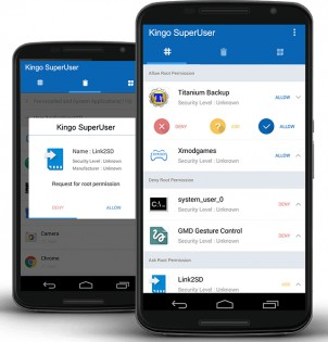 Kingo Android Root 0.4.9.2848. Скриншот 0