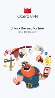 Opera VPN 1.5.0. Скриншот 1