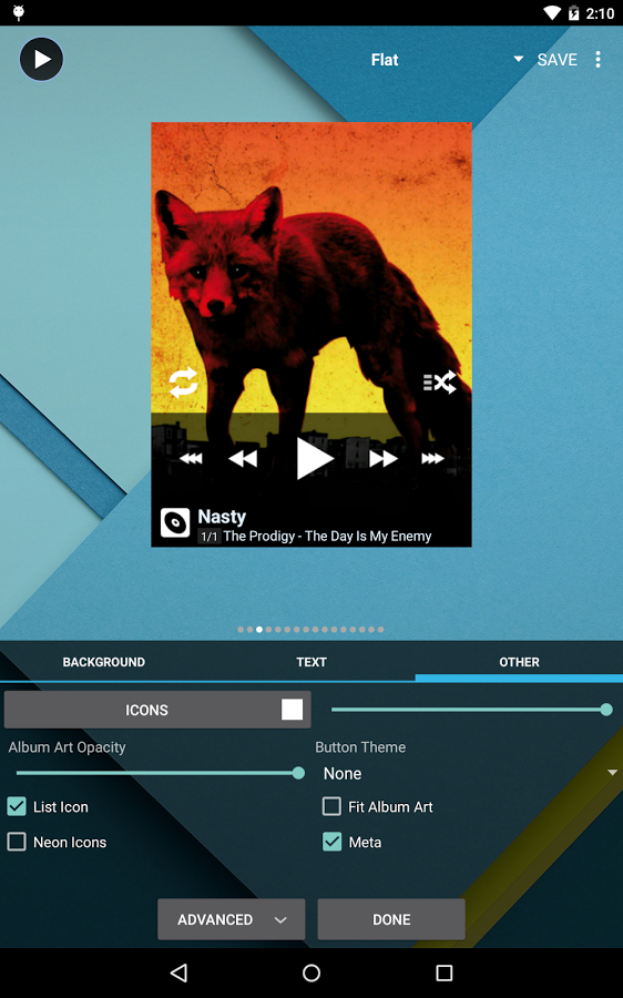 Скачать Poweramp 841 для Android