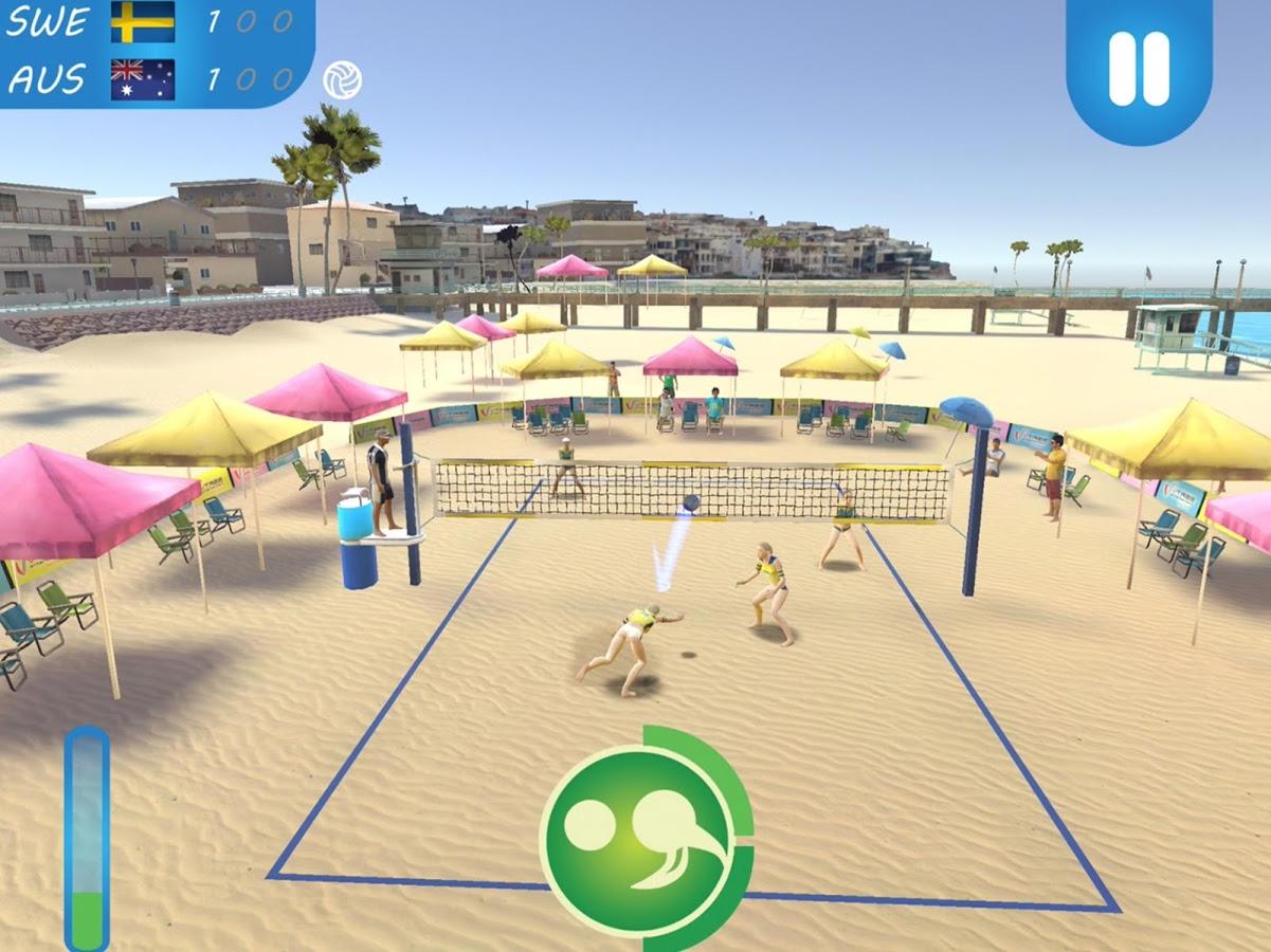 Скачать пляжный волейбол