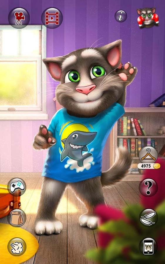 Скачать игры на андроид бесплатно мой говорящий кот том 2