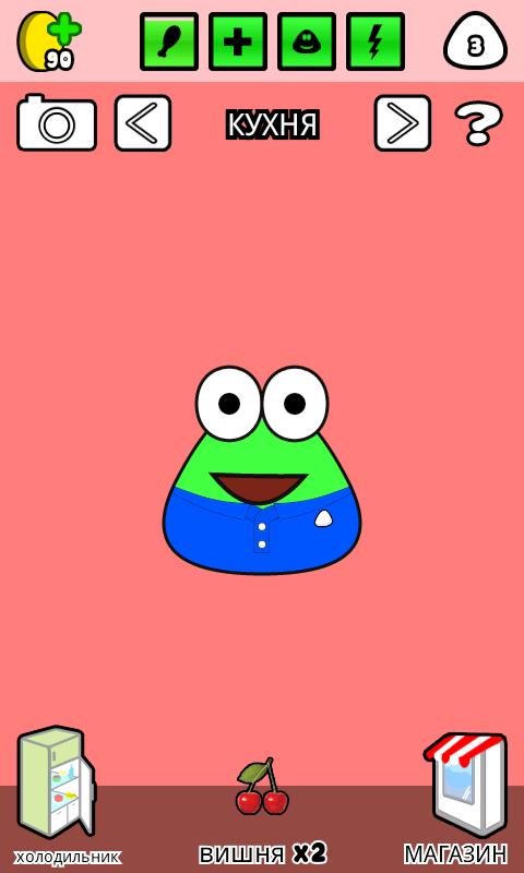 Игра Pou на Андроид 4 2 - YouTube