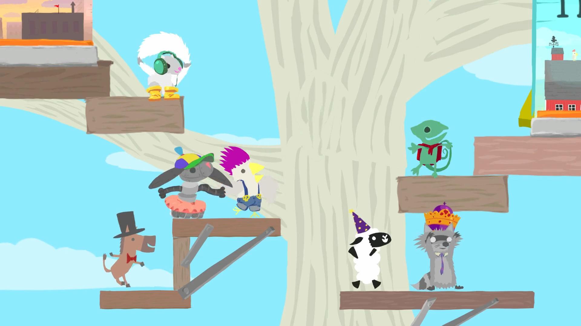 Ultimate chicken horse предлагает сумасшедший игровой процесс для.