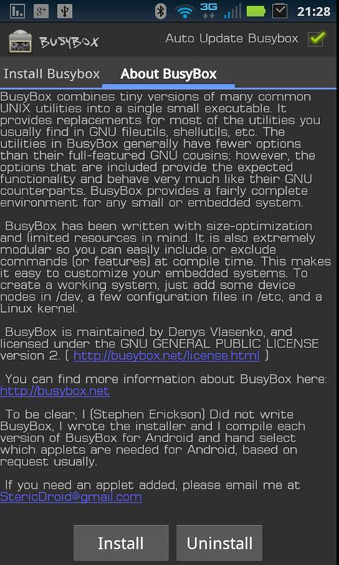 Busybox+pro скачать