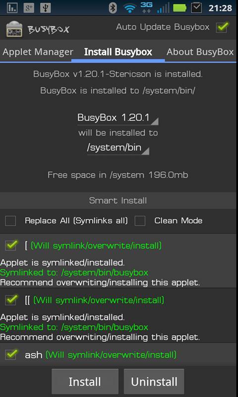 Скачать busybox pro на русском языке для андроид устройств.