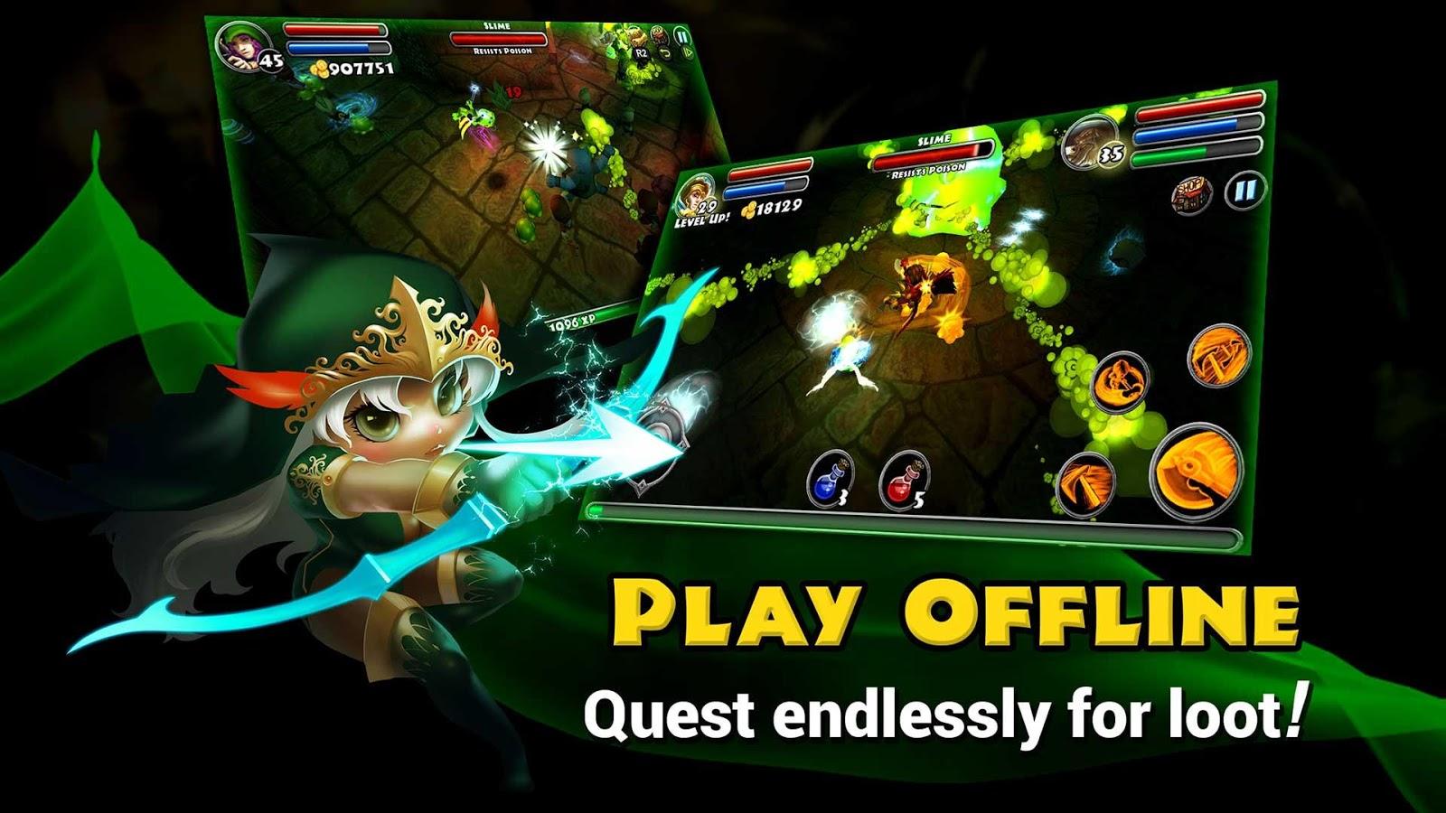 Скачать dungeon quest на пк