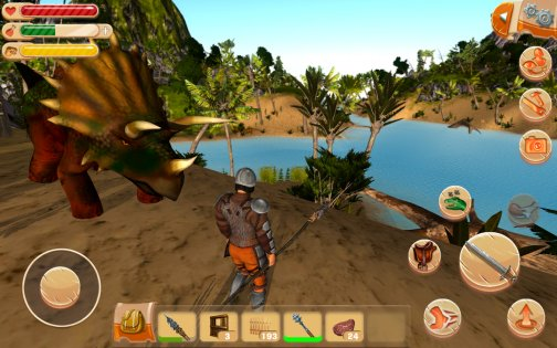 The Ark of Craft: Dinosaurs Survival Island Series 3.3.0.2. Скриншот 5