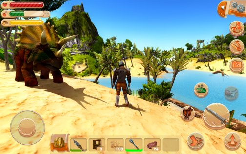 The Ark of Craft: Dinosaurs Survival Island Series 3.3.0.2. Скриншот 6