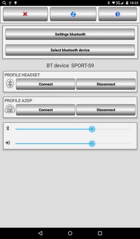 Скачать Bluetooth AudioWidget Free 2 1 для Android