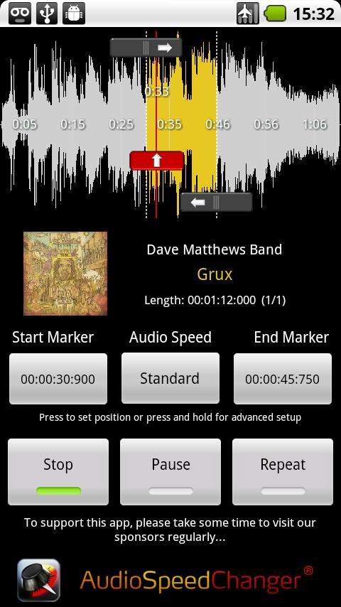 Скачать программу для замедления музыки на андроид