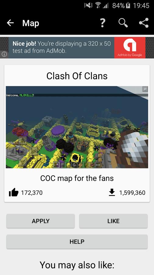 Скачать бесплатно приложение карты для minecraft