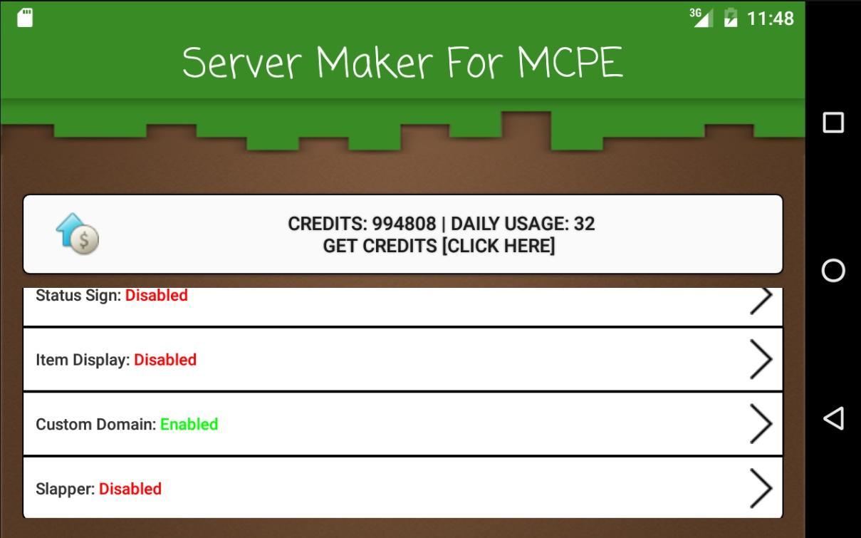 Скачать Server Maker for MCPE 1.4.26 для Android