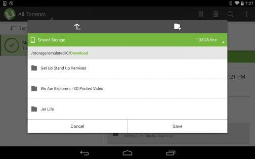 µTorrent 0.44.332. Скриншот 01