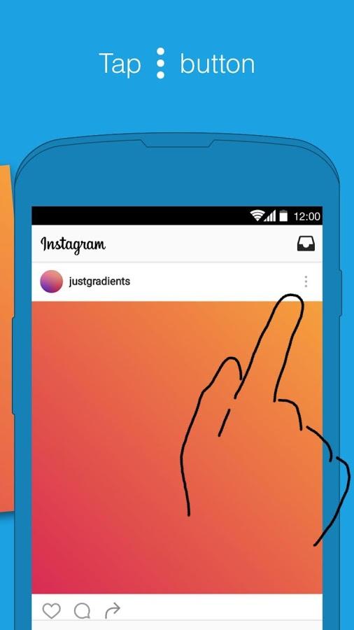 Insta downloader & repost free android app playslack. Com, insta.