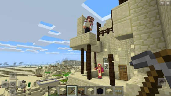 Minecraft - Pocket Edition 0.2.0.7. Скриншот 01