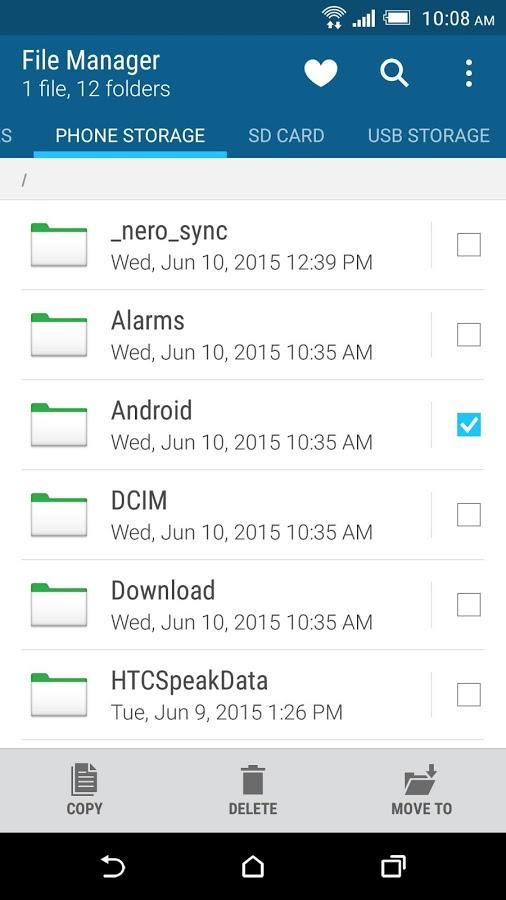 Скачать файл менеджер на андроид htc