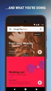 Google Play Музыка 8.6.6626-1.Z. Скриншот 2