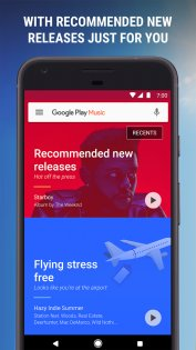 Google Play Музыка 8.7.6773-1.A. Скриншот 3