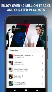 Google Play Музыка 8.6.6626-1.Z. Скриншот 4