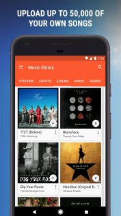 Google Play Музыка 8.7.6773-1.A. Скриншот 5