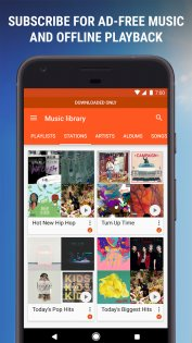 Google Play Музыка 8.6.6626-1.Z. Скриншот 7