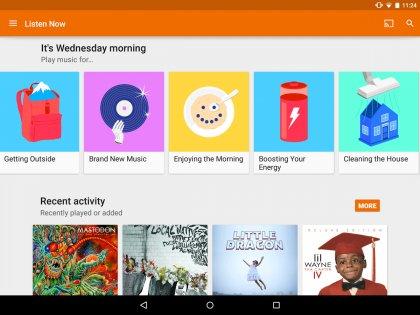 Google Play Музыка 8.6.6626-1.Z. Скриншот 9