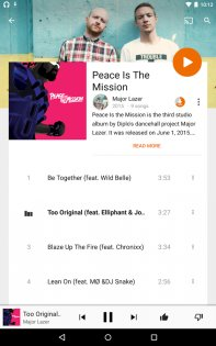 Google Play Музыка 8.7.6773-1.A. Скриншот 13