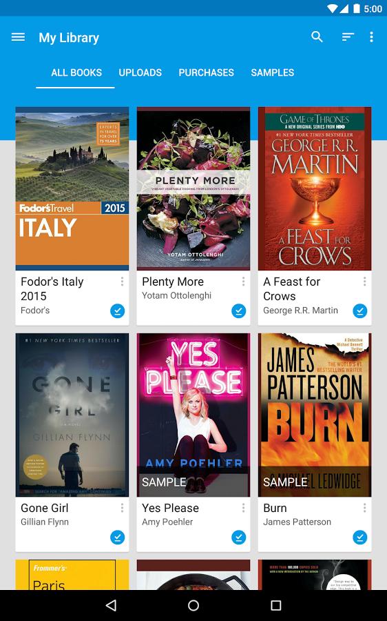 Как скачать книгу в google play