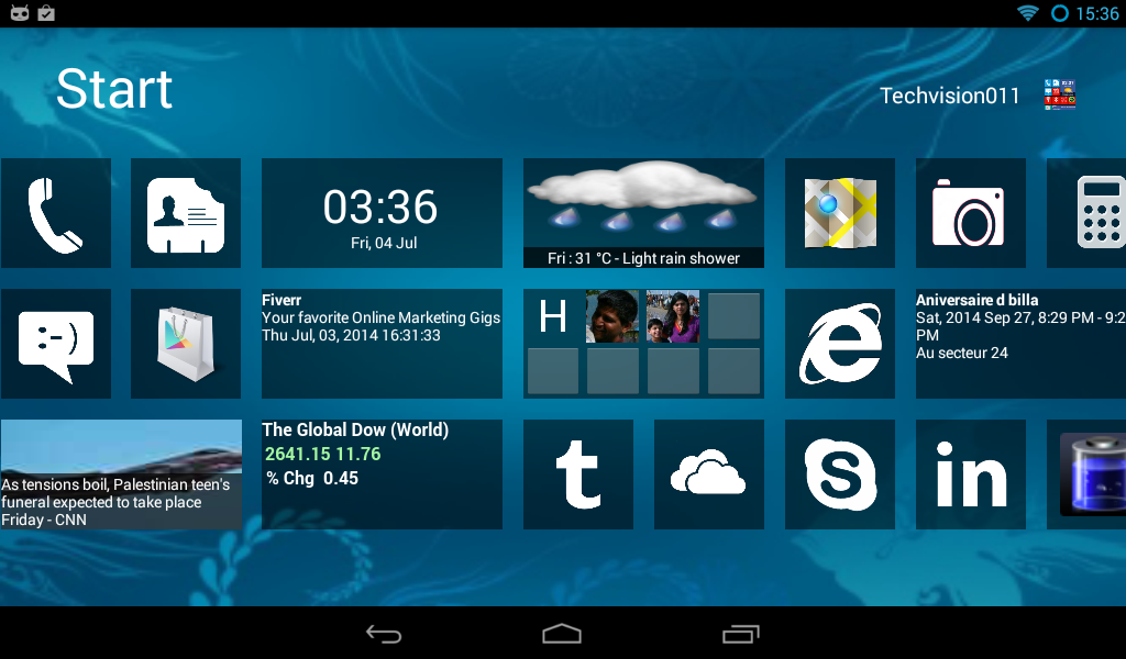 Latest working windows 7 launcher download link for android mobile.