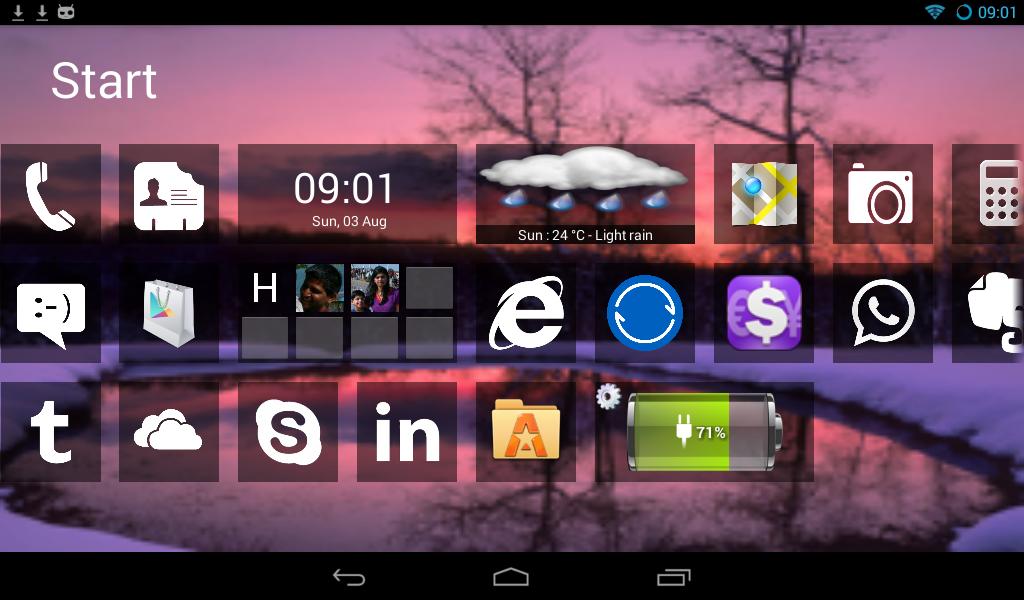 Скачать лаунчер windows 8 для андроид на русском.