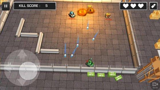Хороший 3d action с танками на ваш смартфон