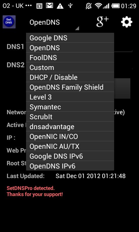 slow dns android 2.3.6
