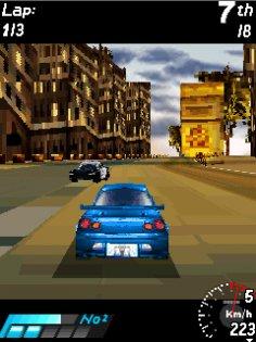 Asphalt: urban GT 3D. Скриншот 2