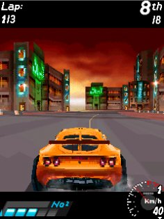 Asphalt: urban GT 3D. Скриншот 3