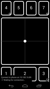 DroidPad 0.1.1. Скриншот 0