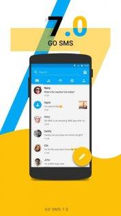 GO SMS Pro 0.29. Скриншот 0