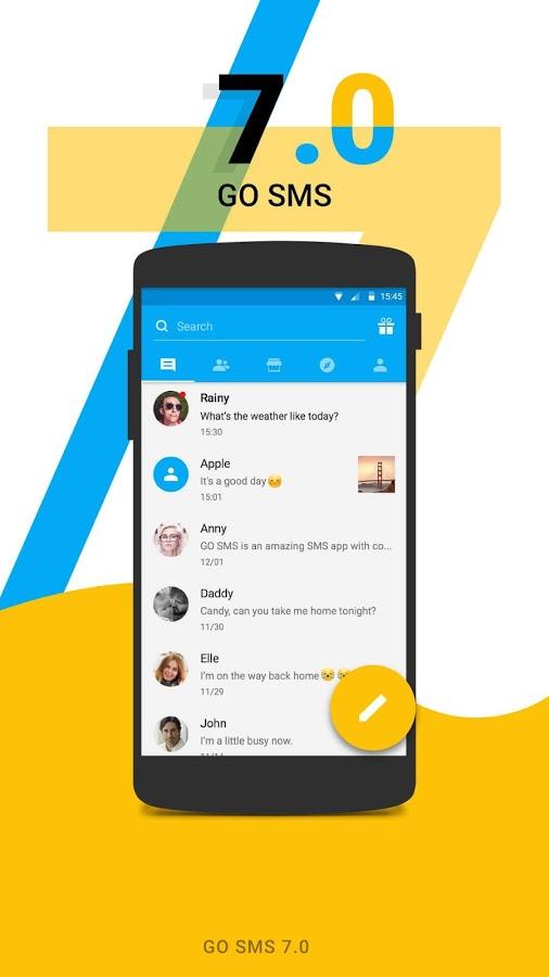 скачать на андроид смс приложение